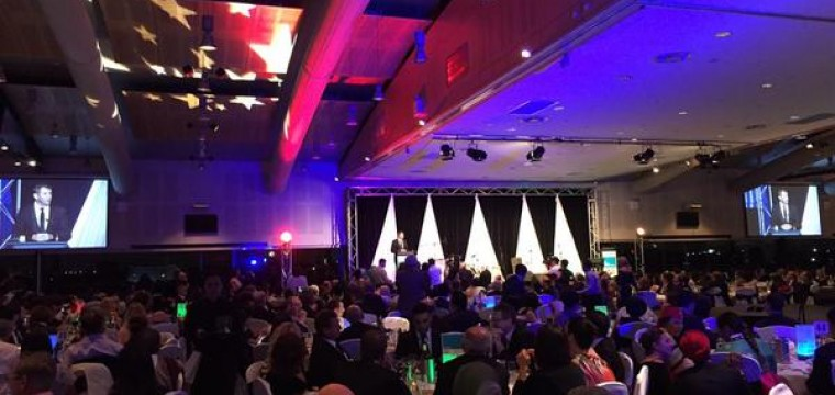 Zapstars Productions at the Premiers's Harmony Dinner.