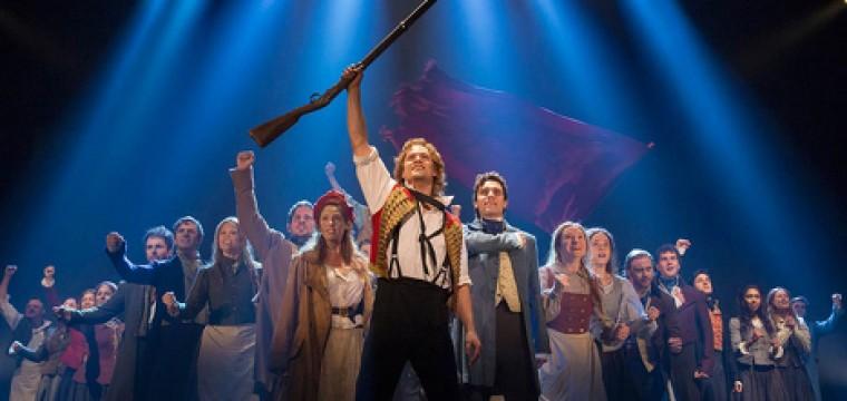 Zapstars Productions at Les Misérables pop-up performance.