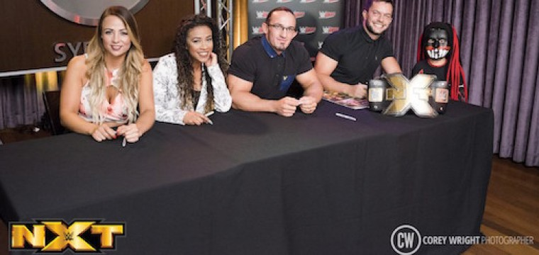 Zapstars Productions at the WWE Superstar Panel held at the Hard Rock Cafe Sydney.
